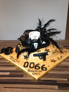 66th birthday james Bond theme